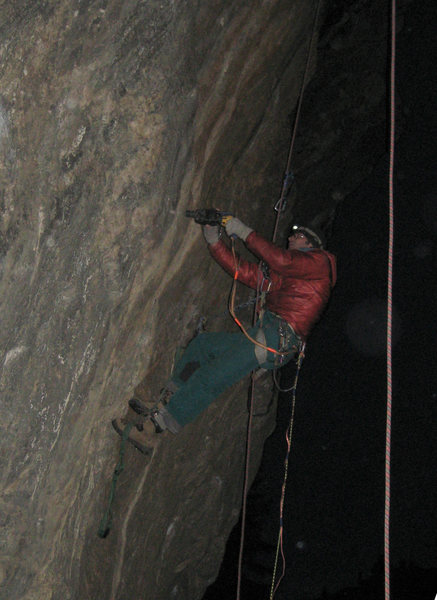 "Rock Climbing Photo: Me stealth drillin' on ""Crying Flyboys"",..."