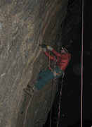 """Rock Climbing Photo: Me stealth drillin' on """"Crying Flyboys"""",..."""
