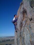 "Rock Climbing Photo: ""The Bitch"""