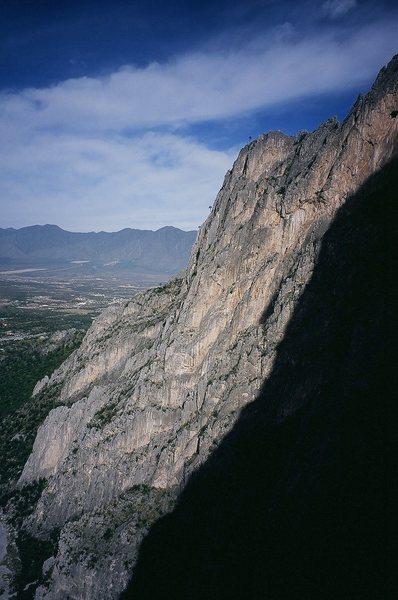 Rock Climbing Photo: Estrellita (Little Star) climbs 2 short pitches up...