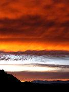 Rock Climbing Photo: Sunset 1-29-10. Photo by Blitzo.