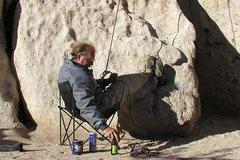 Rock Climbing Photo: The bomber belay. Photo by Blitzo.