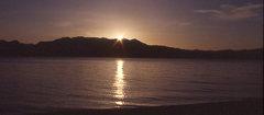 Rock Climbing Photo: Tahoe sunset,. Photo by Blitzo.