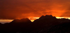 Rock Climbing Photo: Random sunset. Photo by Blitzo.