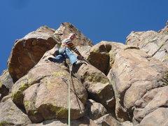 Rock Climbing Photo: Tora, Tora, Tora bolted start.
