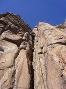 Rock Climbing Photo: Crack hell.