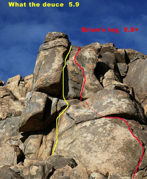 Rock Climbing Photo: A small roof then a short fun corner.