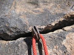 Rock Climbing Photo:  28 year old piton