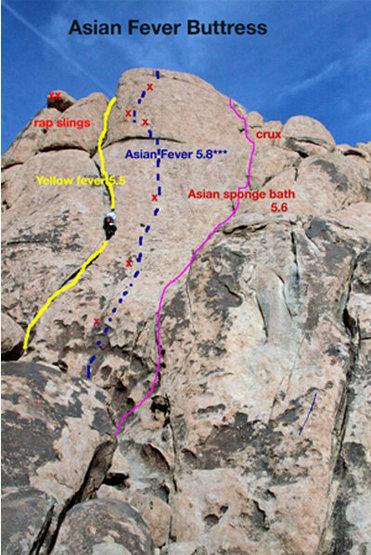 A little rough at the top but a fun climb.
