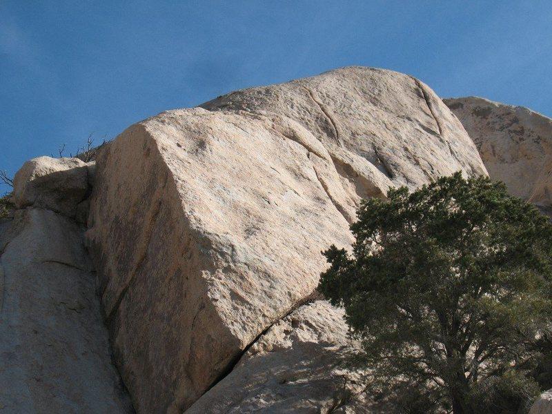 Short Story Crag, Joshua Tree NP