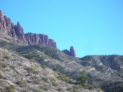 Rock Climbing Photo: angular unconformity. Queen's Creek, AZ. paleozoic...