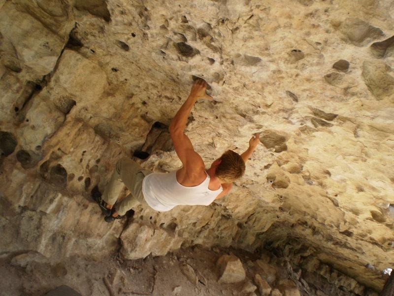 Rock Climbing Photo: bat roof