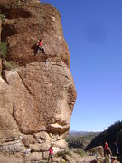Rock Climbing Photo: The route in its entirety and a bit of the scene y...