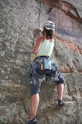 Rock Climbing Photo: Lisa on the UFC