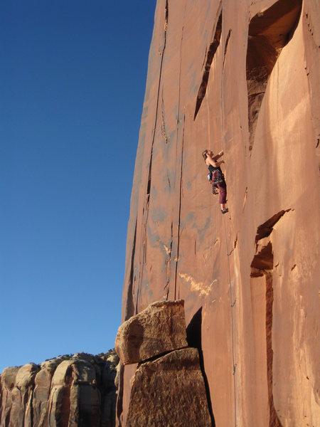 Rock Climbing Photo: Coyne Crack