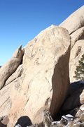 Rock Climbing Photo: NRA Block, Joshua Tree NP