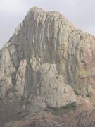 Rock Climbing Photo: Elephant Head, North Face.  Photo courtesy of Rile...