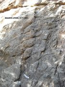 Rock Climbing Photo: Mary's Jugs, 5.7 (50').