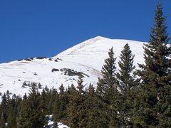 Rock Climbing Photo: Beautiful view of the east ridge of Quandary peak,...