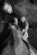 Rock Climbing Photo: Another of Ed, on the very entertaining Show of Ha...