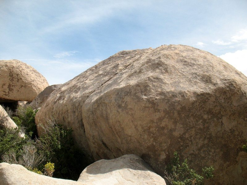 Boulder Crack Rock, Joshua Tree NP