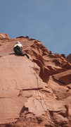 Rock Climbing Photo: Pete Walka on a fantastic February day