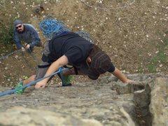 Rock Climbing Photo: Carlo Rivas (age 11) on Beginnings, PJ Slab, Calif...