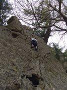 Rock Climbing Photo: Max Chandler (age 11) on Beginnings, PJ Slab, Cali...