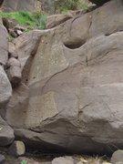 Rock Climbing Photo: Abra-Cadaver.