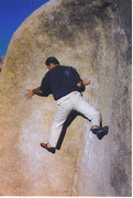 Rock Climbing Photo: There's not nearly enough pics of this problem her...