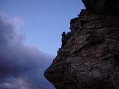 Rock Climbing Photo: Matthew on The Prow