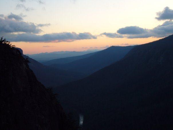 Rock Climbing Photo: Dusk