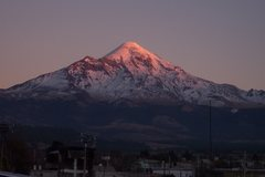 Rock Climbing Photo: Orizaba from the town of Tlachichuca