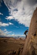 Rock Climbing Photo: Myles Moser on the Bama classic