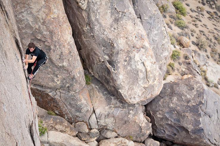 Rock Climbing Photo: Myles Moser