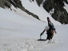 Rock Climbing Photo: atlantic peak, tenmile range, colorado