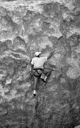 Rock Climbing Photo: Todd Gordon on what was thought to be the FA of &q...