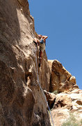 "Rock Climbing Photo: Tucker Tech on the first red point of ""Bort&q..."