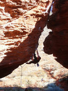 Rock Climbing Photo: Bananna Hammock. St. Geroge, Ut