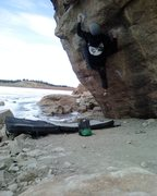 Rock Climbing Photo: Jables on Super Chief.