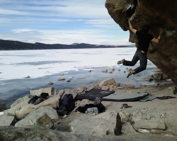 Rock Climbing Photo: Hey look, another one of the same photo. (self-por...