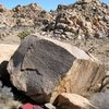 Jimmy Cliff Boulder, Joshua Tree NP