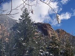 Rock Climbing Photo: Wigwam Dome from a different angle. if you see it ...