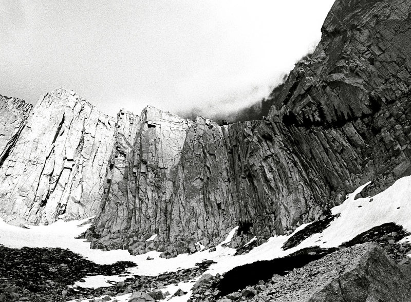 Rock Climbing Photo: Lone Peak Cirque