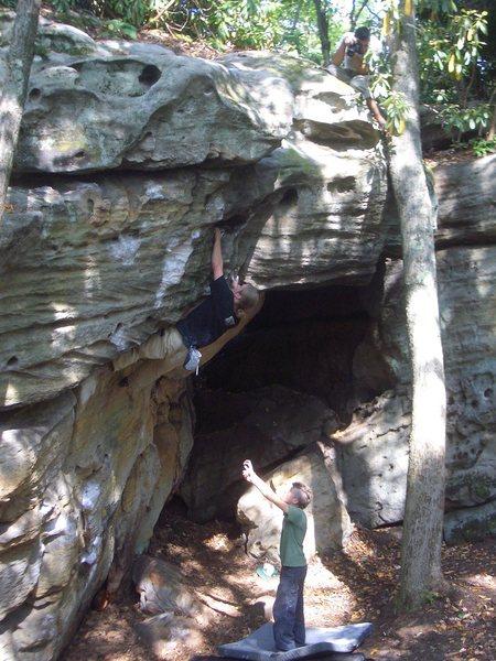 Rock Climbing Photo: Fork Run in Photo Jake Stinson