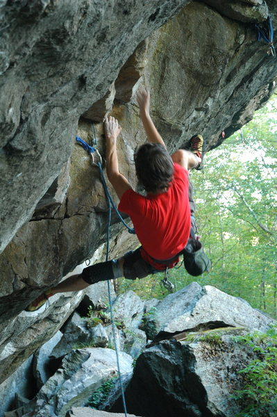 Rock Climbing Photo: I thought these moves right off the ground were so...