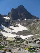 Rock Climbing Photo: Ritter/Banner saddle, from base.