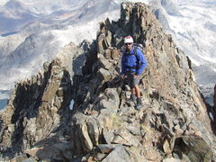 Rock Climbing Photo: Mt Ritter, north face.