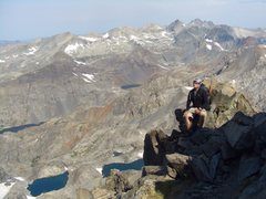 Rock Climbing Photo: Mt Ritter, north face.