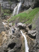 Rock Climbing Photo: Malham Cove. No climbing today...